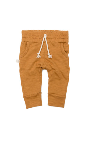jersey jogger in 'toffee'- NEW