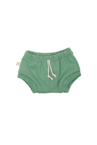 shorties in 'spring green'