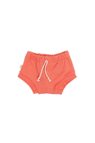 shorties in 'coral'