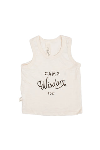 tank top in 'camp wisdom'