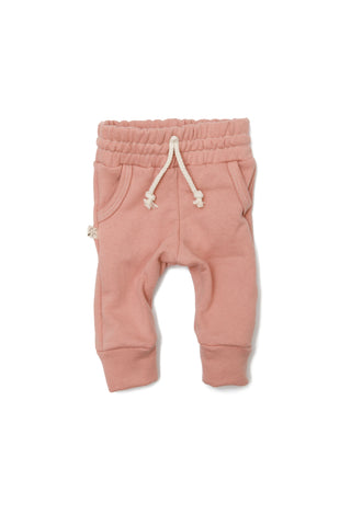 jogger in 'clay pink'