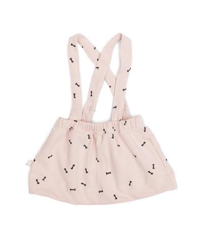 suspender skirt in 'bows'