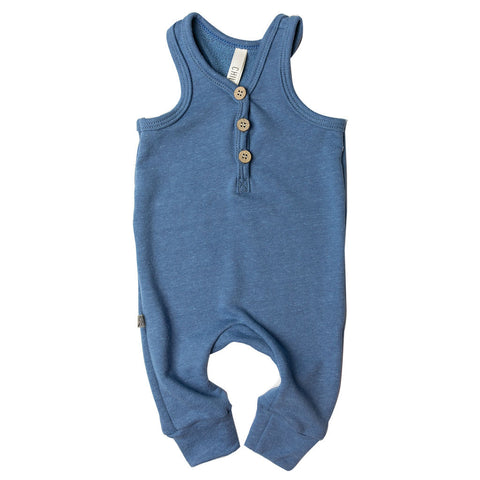 tank romper - french blue