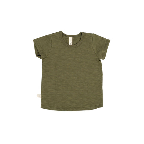 basic tee in 'olive'
