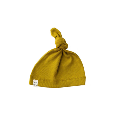 knot hat - chartreuse [final sale]