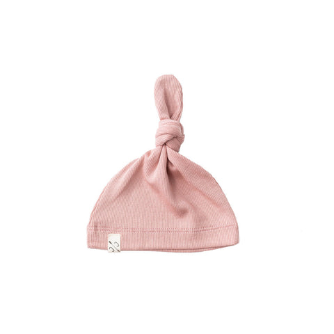 knot hat - clay pink [final sale]