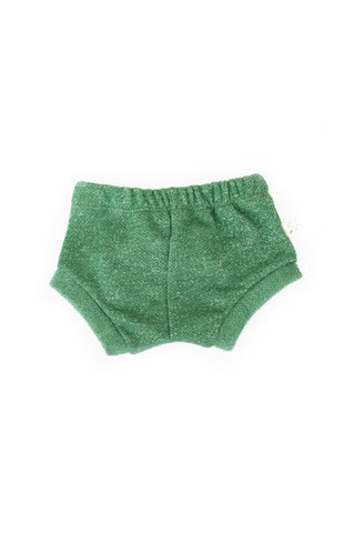 shorties in 'scout green'