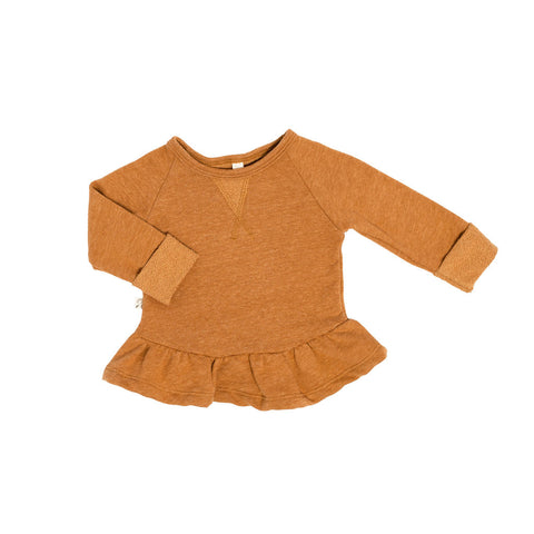 peplum crew in 'honey'