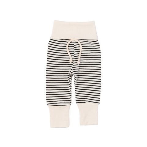 skinny sweats in 'narrow natural stripe'