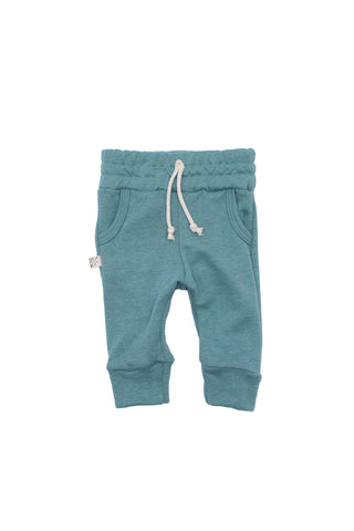 jogger in 'oil blue'