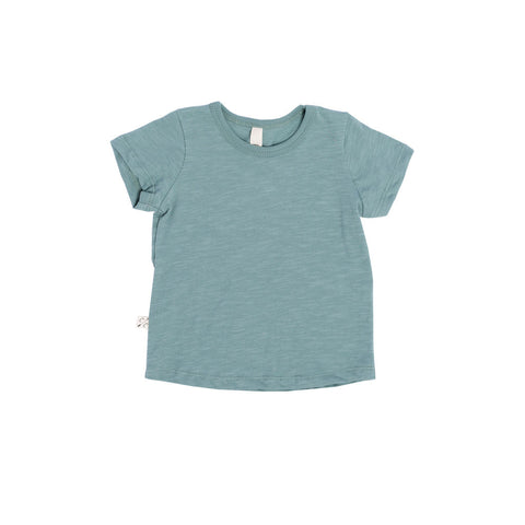 basic tee in 'oil blue'