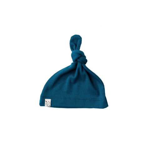 knot hat - peacock [final sale]