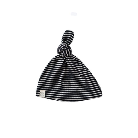 knot hat - raven stripe [final sale]