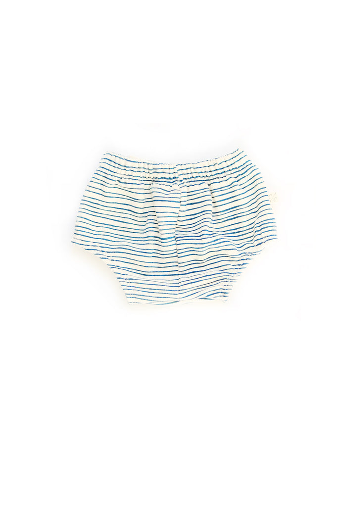 Bloomers in 'painted stripe' [size down]