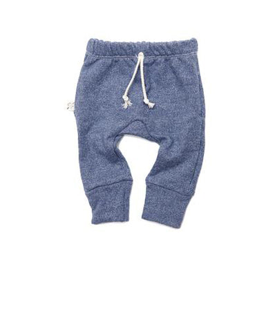 gusset pants in 'indigo'