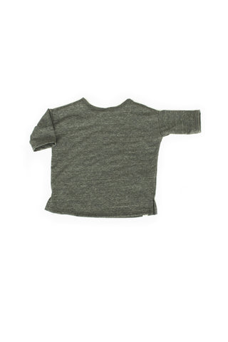 slouch tee in 'gray' jersey