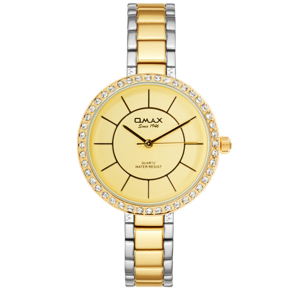 Portia Dual-Tone Watch