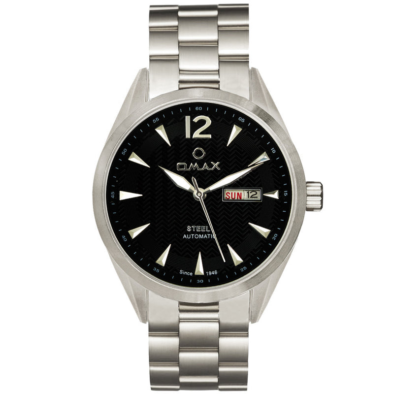 Lewis Automatic Stainless Steel Day/Date Watch