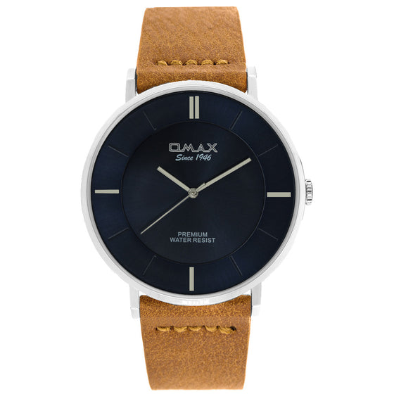 Jacob Minimalist Leather Watch