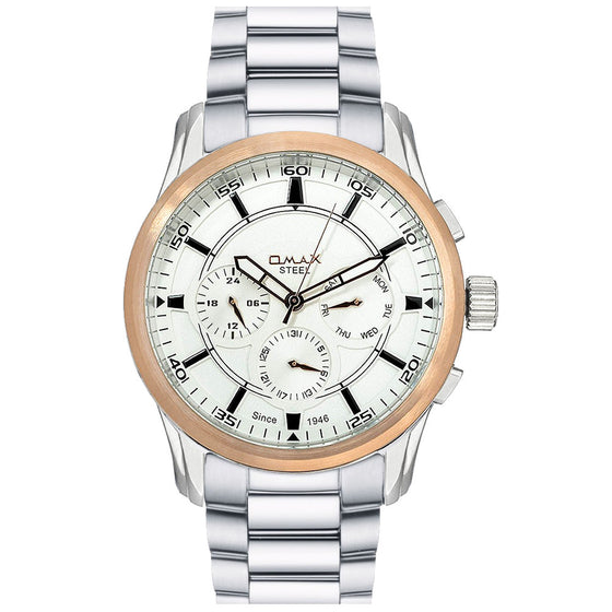 Benjamin Stainless Steel Multi-Function Watch