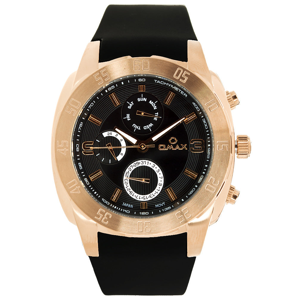 Murphy Steel Multi-Function Watch
