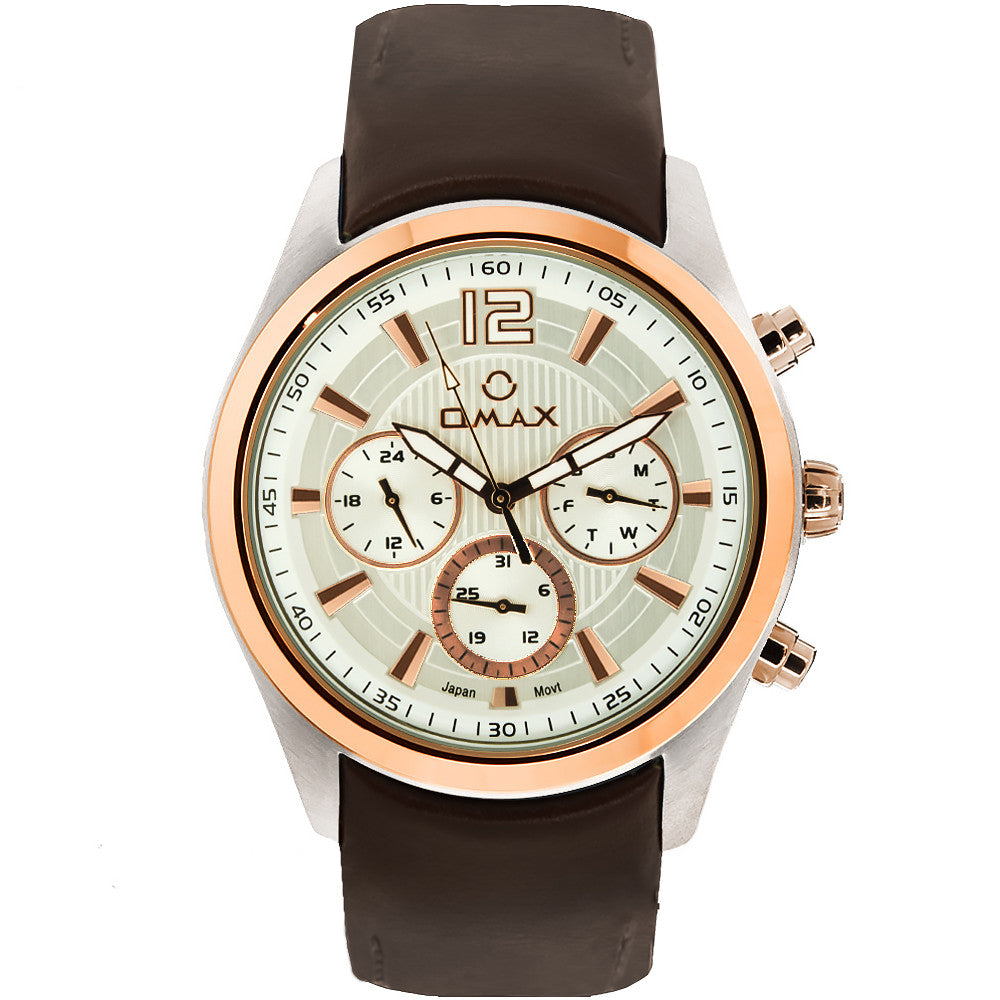 Lucas Multi-Function Watch (Dual Tone)