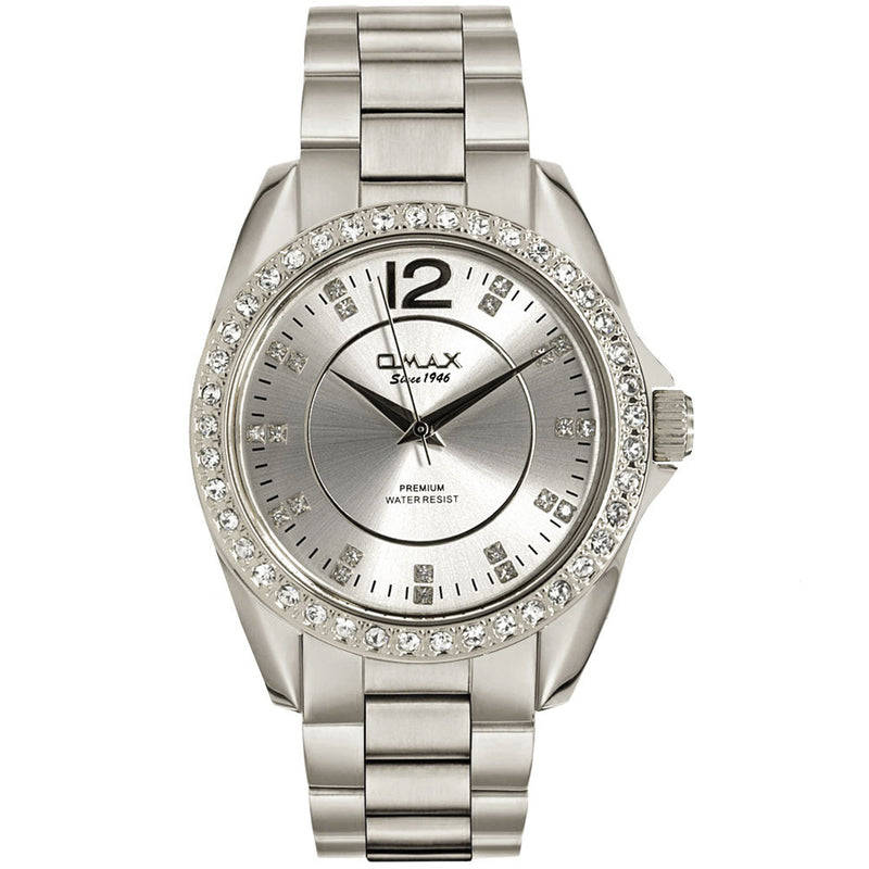 Ema Silver Boyfriend Watch