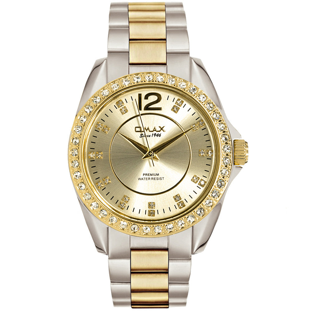 Ema Dual-Tone Boyfriend Watch