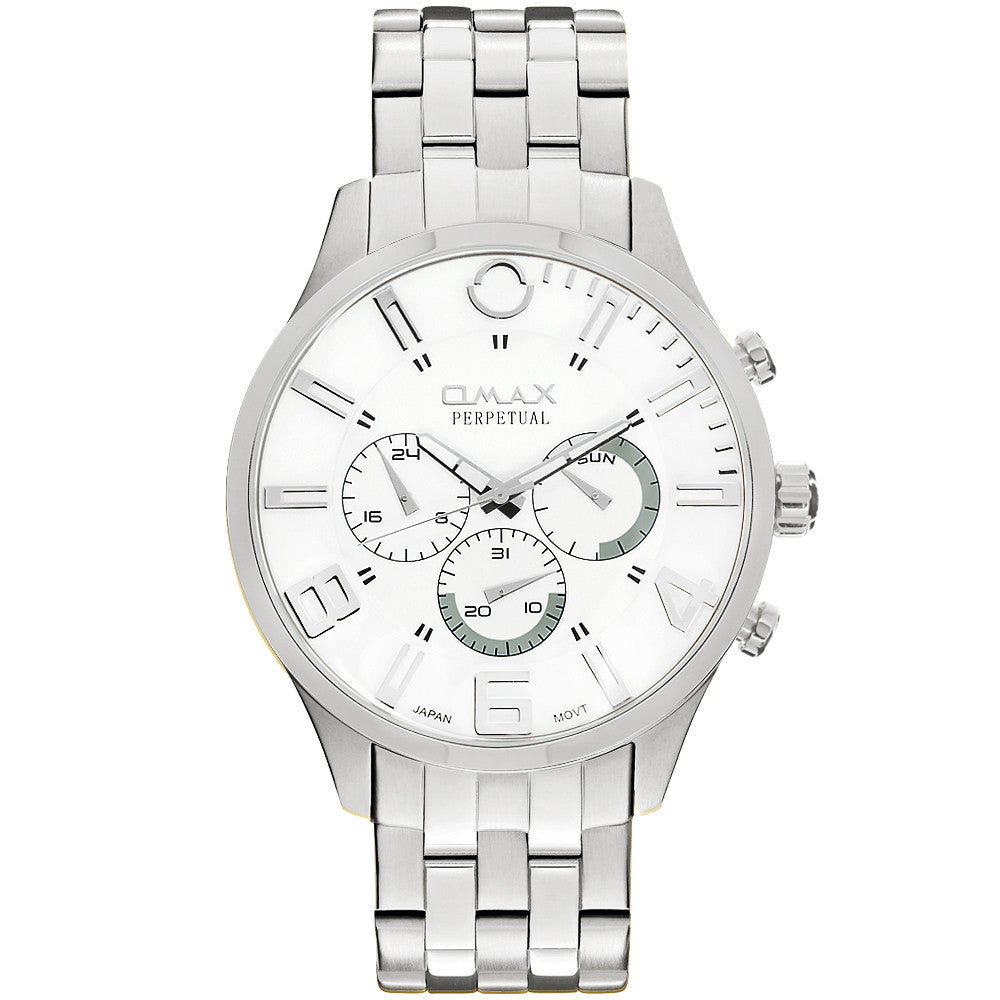 William Stainless Steel Multi-Function Watch