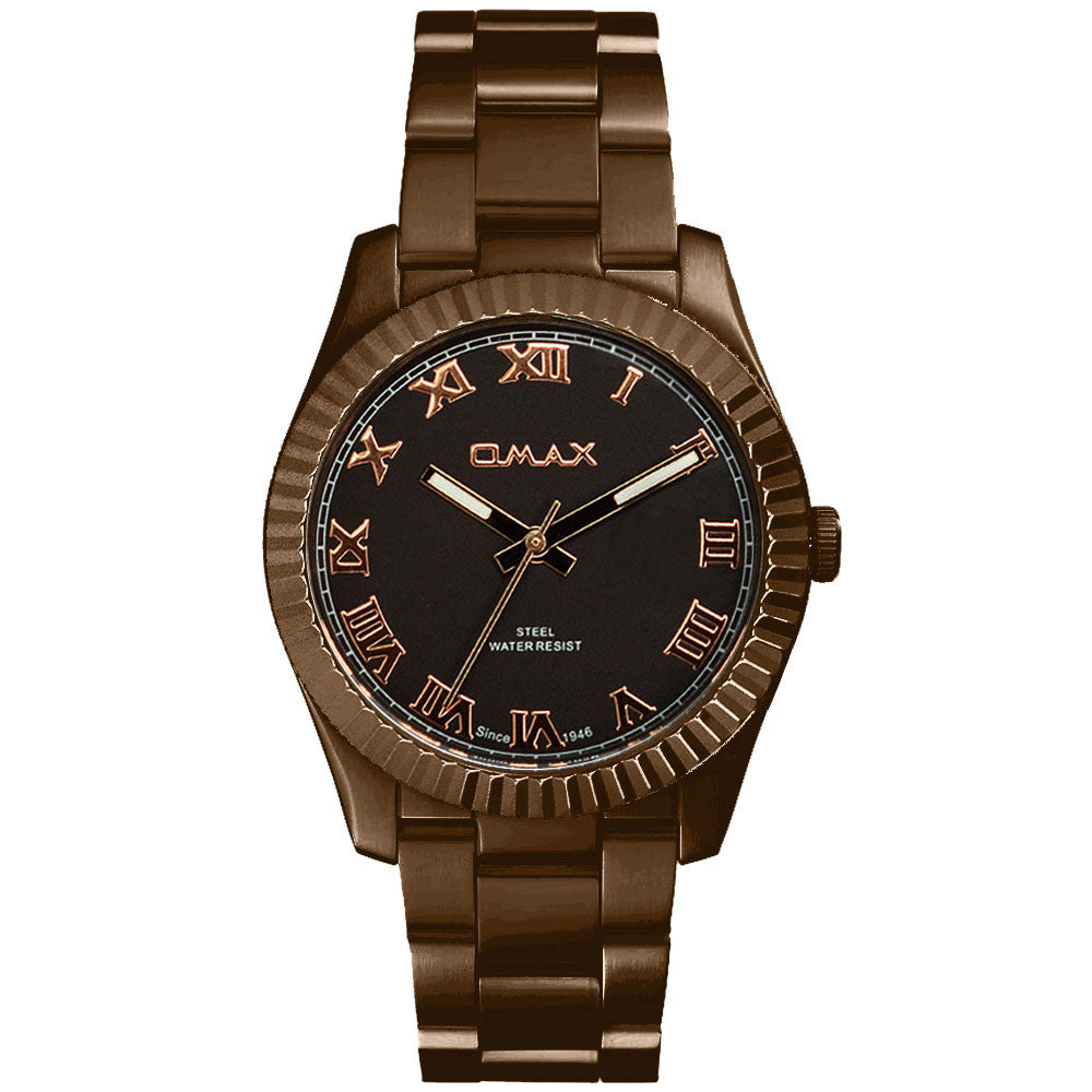 Jana Slim Runway Watch (Brown Tone)