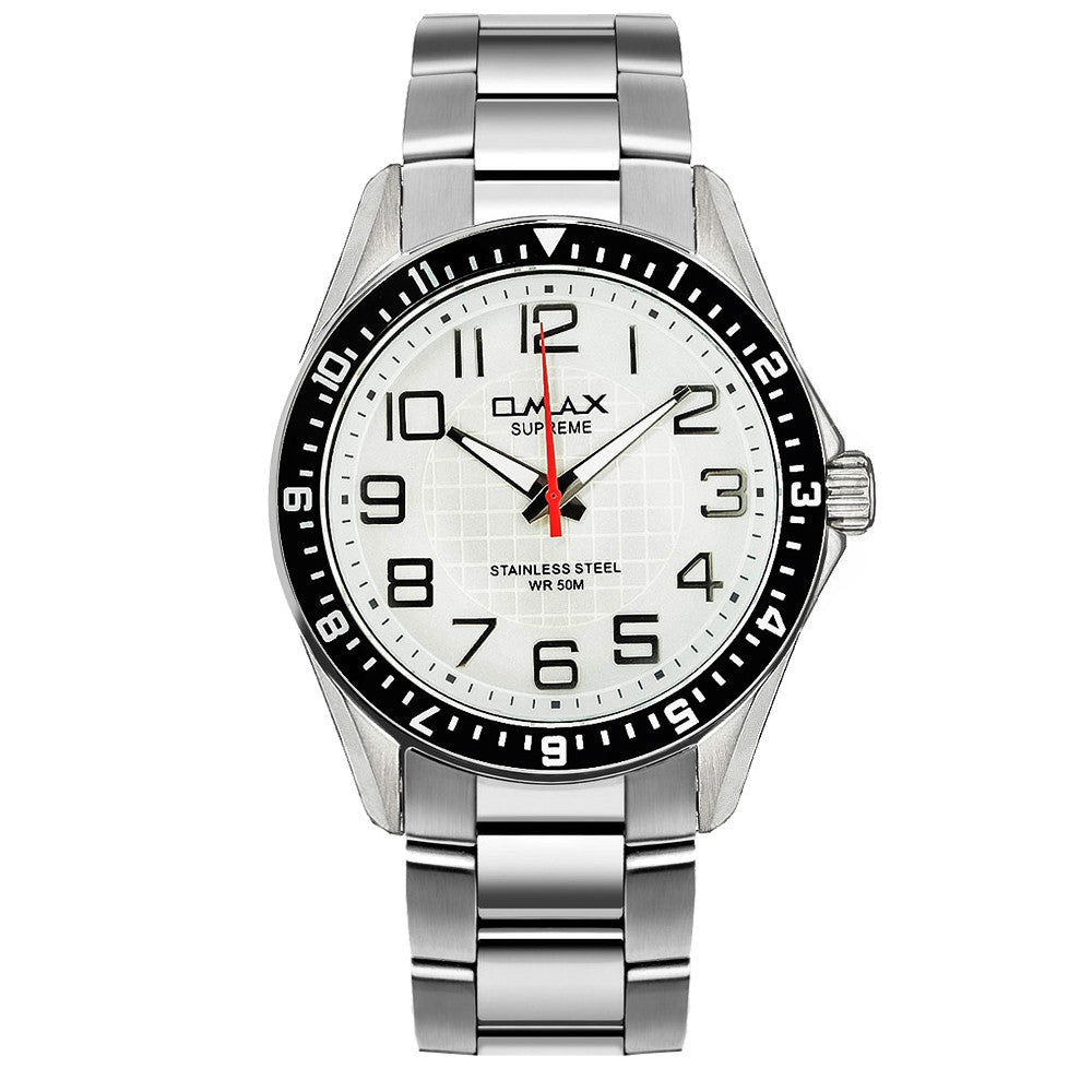 Brandon Silver Stainless Steel Watch
