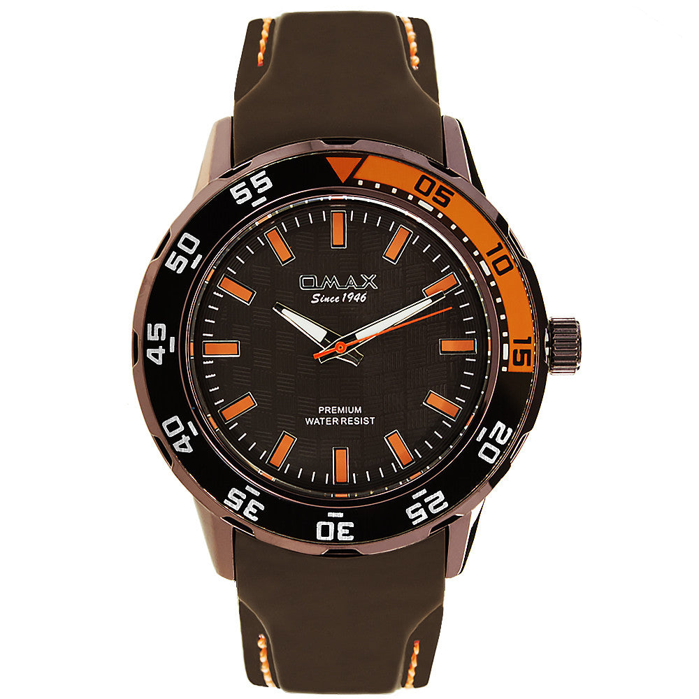 Ethan Steel Sport Watch (Brown)