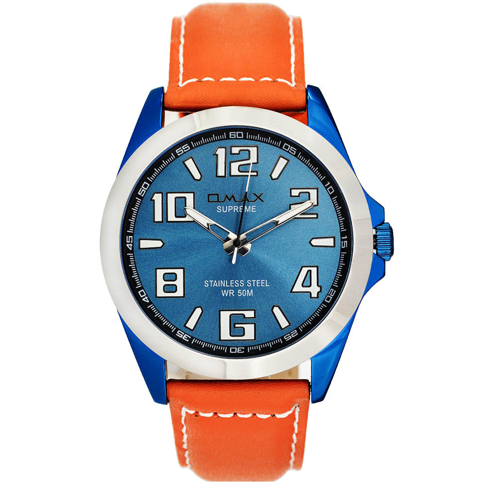 Kian Electro-Blue Stainless Steel Watch