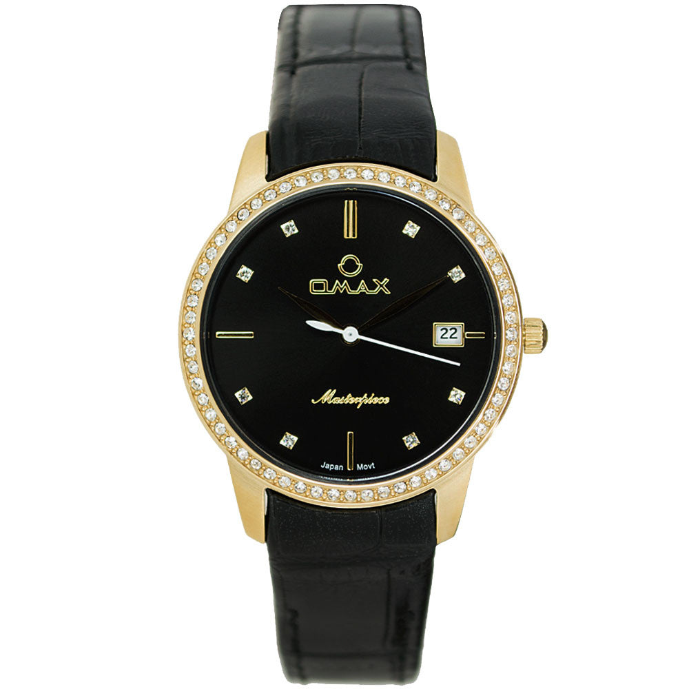 Isabelle Elegant Gold Watch