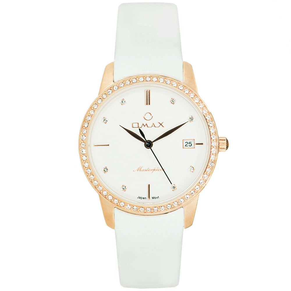 Isabelle Elegant Rose-Gold Watch