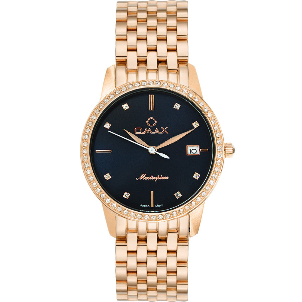 Abigail Rose Gold Boyfriend Watch