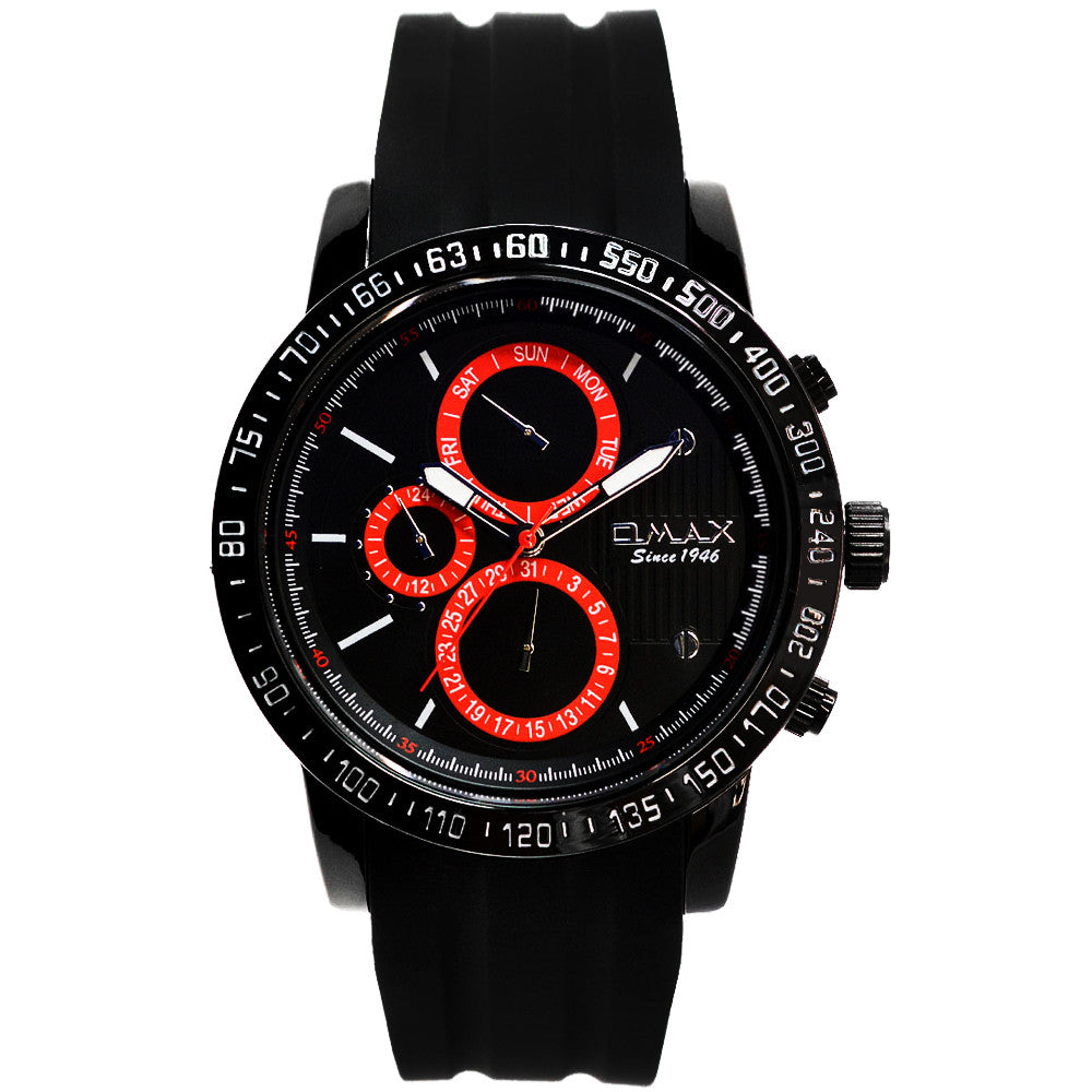 Elijah Steel Mult-Function Jet Setter Watch