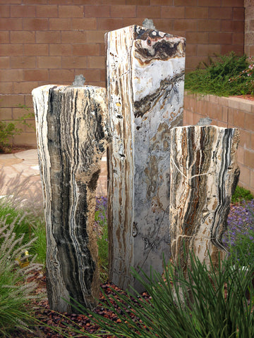 Black Canyon Onyx Columns, Singular or a Set of Three