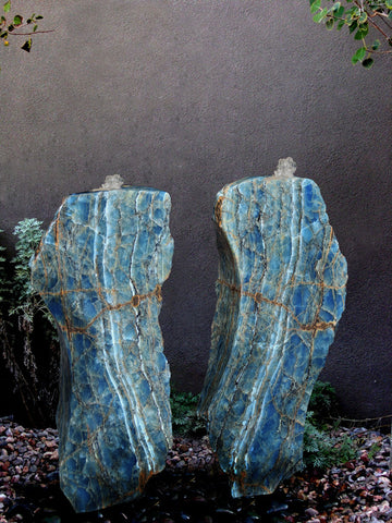 Argentine Aquamarine Stone Fountain 2 SOLD