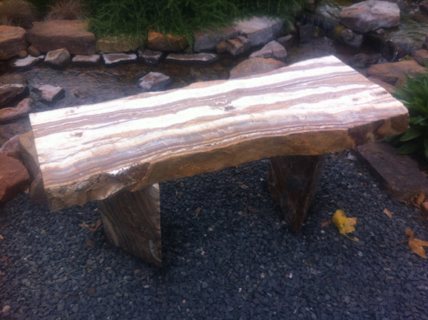 Grand Canyon Red Onyx Bench 4 SOLD