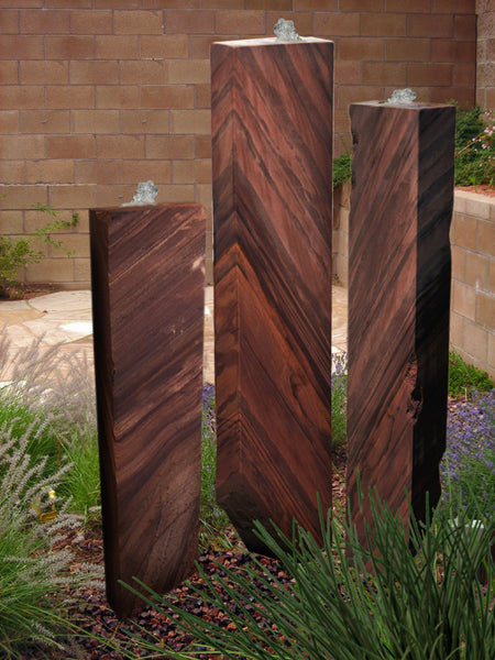 Salt River Sandstone Columns, Singular or a Set of Three