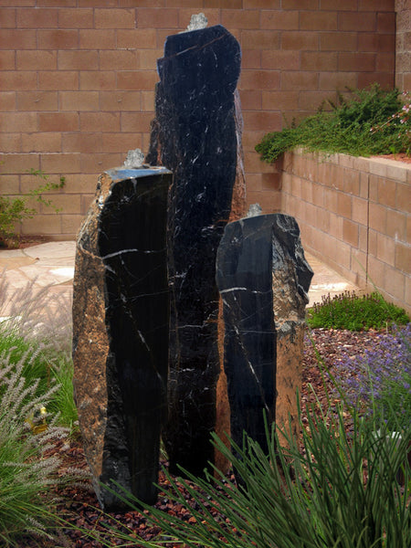 Sonoran Marble Columns, Singular or a Set of Three