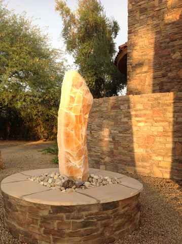 Sunrise Onyx Fountain 22 SOLD