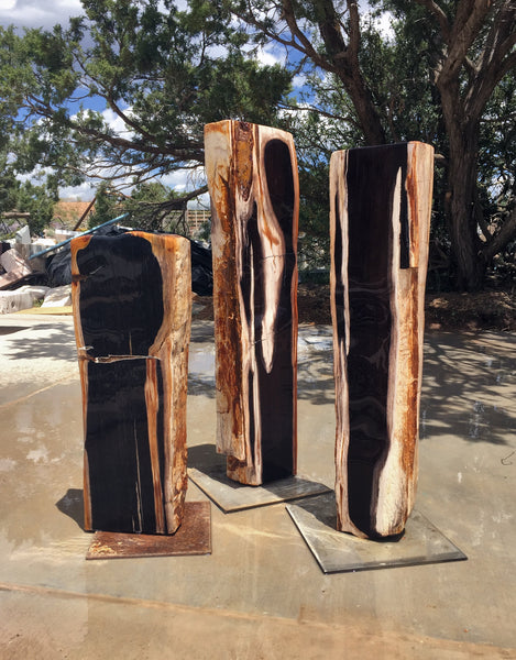 Petrified Wood Fountain 6 SOLD