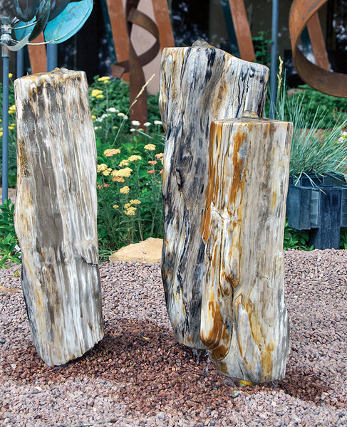 Petrified Wood Fountain 5 SOLD