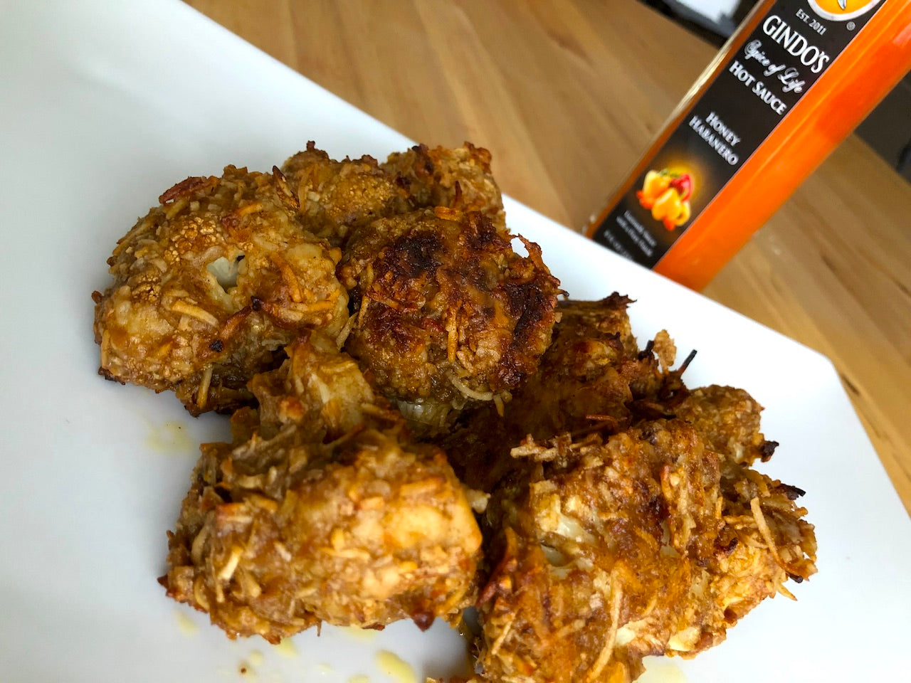 Jerk Cauliflower Wings