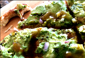 Gindo's Avocado Flatbread