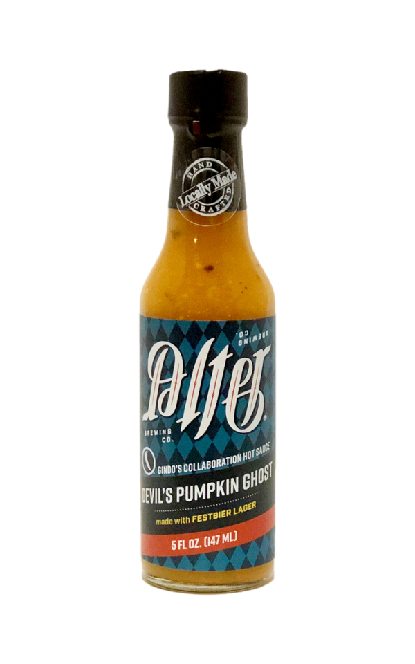 Gindo's Alter Devil's Pumpkin Ghost Hot Sauce