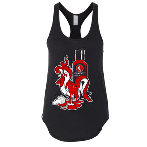 Gindo's Fiery Rooster Tank Top