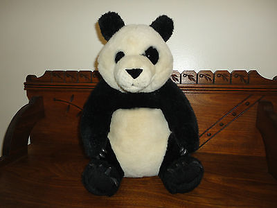 Vintage Zellers Canada PANDA BEAR 14 inch Rubber Claws RARE